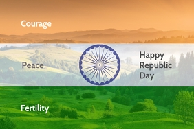 Happy Republic day Poster