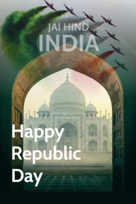 Happy republic day posters