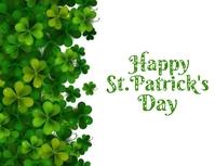 Happy Saint Patrick's Day Flyer (US Letter) template