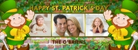 Happy St Patrick Day Facebook Photo Collage Ikhava Yesithombe se-Facebook template