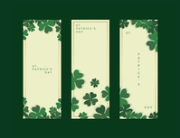 Happy St. Patrick's Day! Flyer (format US Letter) template