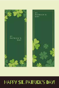 Happy St. Patrick's Day! Affiche template