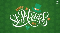 Happy St. Patrick's Day Message Twitter template