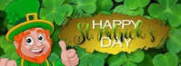 Happy St. Patrick's Day Facebook Cover Facebook-omslagfoto template