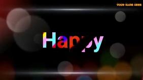 Happy Teacher's Day Wishes with Music Vidéo de couverture Facebook (16:9) template