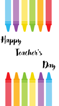 Happy Teacher,s Day Instagram Story template