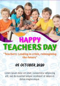 Happy Teachers Day A4 template