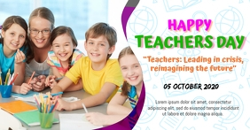 Happy Teachers Day Facebook Ad Template