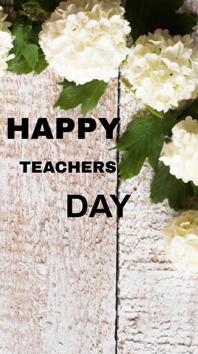 HAPPY TEACHERS DAY TEMPLATE Estado de WhatsApp