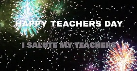HAPPY TEACHERS DAY TEMPLATE Facebook 广告
