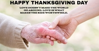 HAPPY THANKSGIVING DAY TEMPLATE Iklan Facebook
