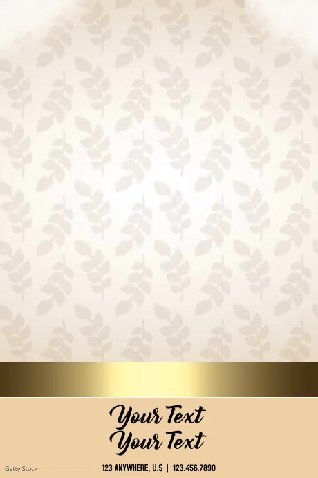 happy thanksgiving Plakat template