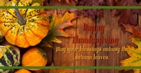 Happy Thanksgiving Facebook Event Cover template