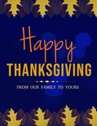 happy thanksgiving Iflaya (Incwadi ye-US) template