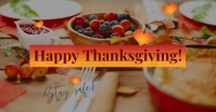 Happy Thanksgiving Facebook ad template