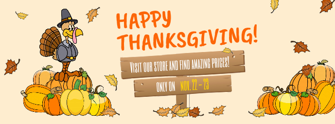 Happy Thanksgiving Facebook Cover Photo