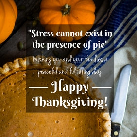 Happy Thanksgiving Pie