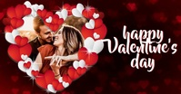 HAPPY VALENTINE'S DAY CARD POST TEMPLATE Facebook Shared Image