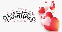 HAPPY VALENTINE'S DAY CARD POST TEMPLATE Immagine condivisa di Facebook