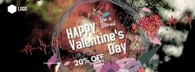 Happy valentine's Day Zdjęcie w tle na Facebooka template