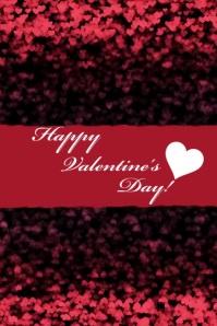 Happy Valentine's Day โปสเตอร์ template