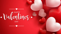 Happy Valentine's Day Digital Display (16:9) template
