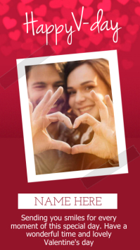 happy valentine's day INSTAGRAM STORY DESIGN template