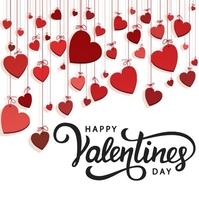 HAPPY VALENTINE'S DAY ONLINE GREETING templat Instagram 帖子 template