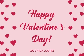 Happy Valentine's Greeting 2021 Template Iphosta