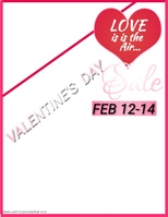 Happy Valentine's Day Poster Template
