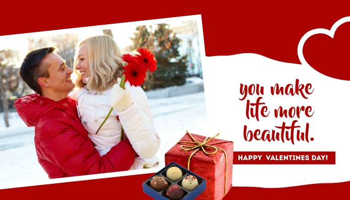 Happy Valentine's Day Templates Header Blog
