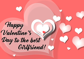 Happy Valentine's Day to Girlfriend