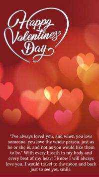 HAPPY valentine's INSTAGRAM STORY TEMPLATE Instagram-Story