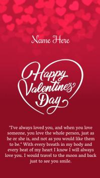 HAPPY valentine's INSTAGRAM STORY TEMPLATE
