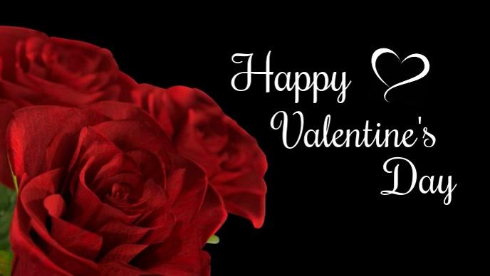 happy Valentine's Valentines Day Video Roses