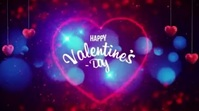 Happy valentine Day Wishes video Digital Display (16:9) template