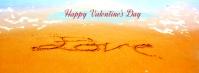 happy valentine fb Copertina Facebook template