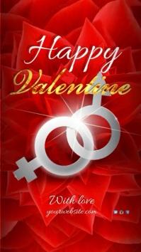 Happy Valentine Instagram Story