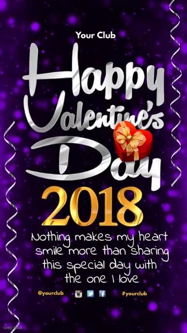 Happy Valentine's Day Instagram