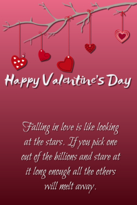 happy valentines day - Valentine Poster