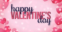 HAPPY VALENTINES DAY CARD AD TEMPLATE Facebook Shared Image