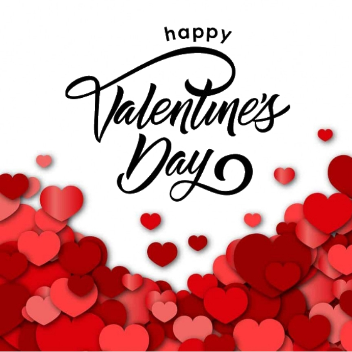 HAPPY VALENTINES DAY CARD AD TEMPLATE Pos Instagram