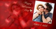 Happy Valentines day Isithombe Esabiwe ku-Facebook template