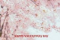 HAPPY VALENTINES DAY Poster template