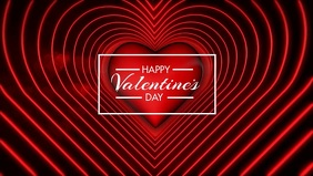 Happy Valentines Day - Heart Beating 2
