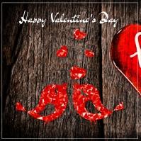 happy valentines post Instagram 帖子 template