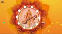 Happy vasant panchami Video Digital Display (16:9) template