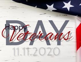 Happy Veterans Day Template Pamflet (VSA Brief)