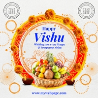 Happy Vishu 2021 Template Instagram na Post