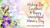 Happy Women's Day Digital Video Template
